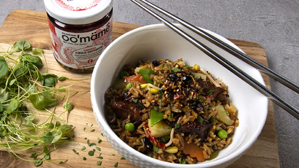 Image of Fried Rice + oo'mämē