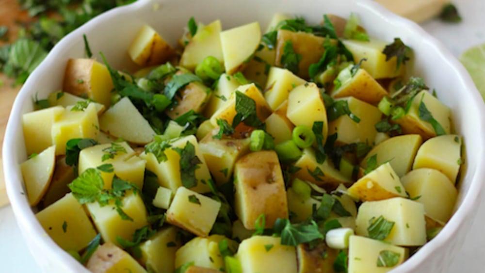 Image ofMinty Lemon Potatoes