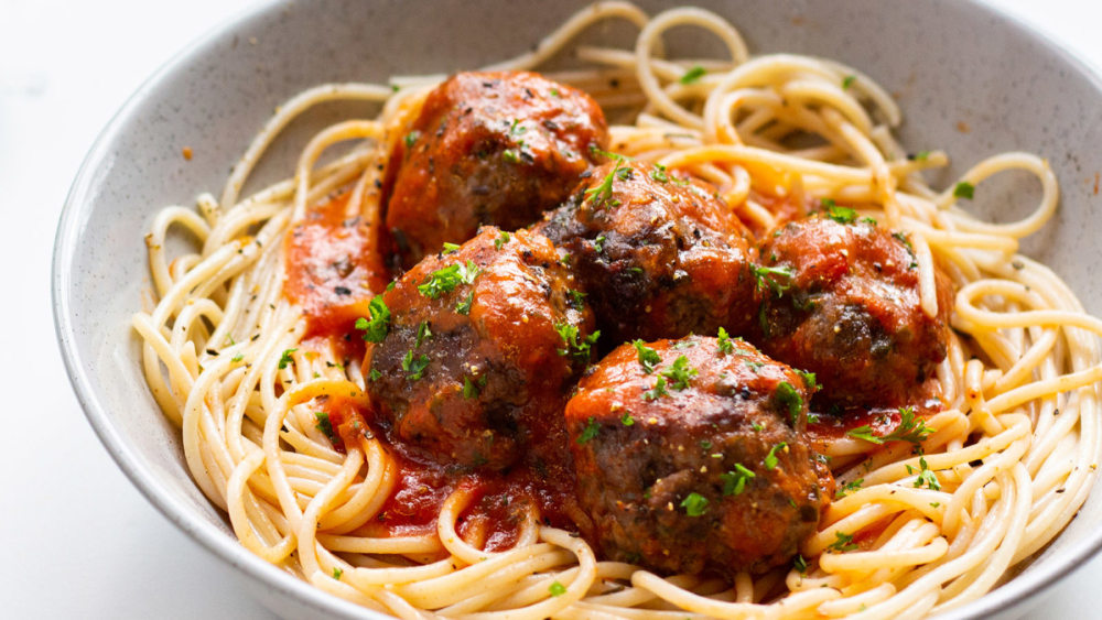 Image of Low FODMAP Meatballs with Homemade Tomato Sauce