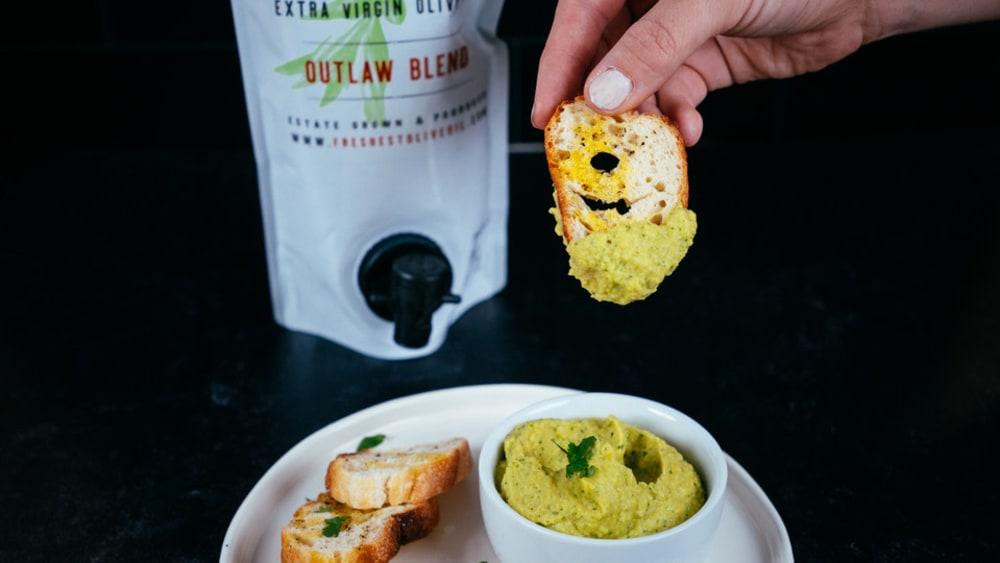Image of Lime Avocado Hummus