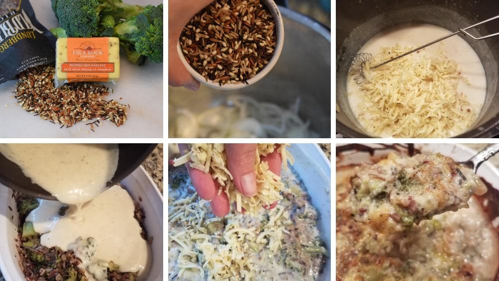 Image of Peppercorn Harvest, Broccoli, and Wild Rice Casserole