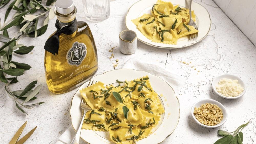 Image of Ravioli with Sage & Governor Olive Oil