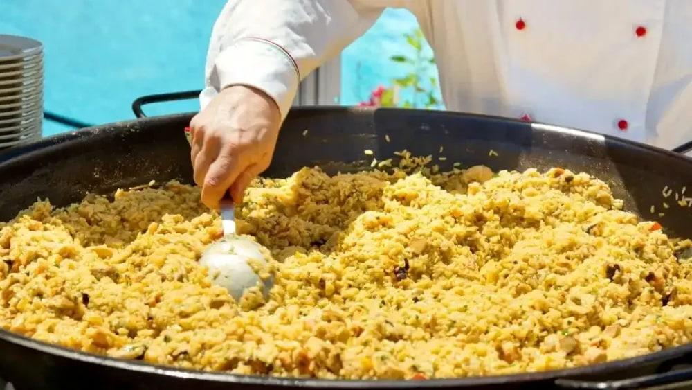 Image of Machika Vegan Vegetable Paella Recipe