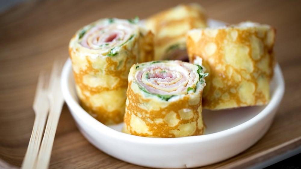 Image of Ham and Boursin® Crêpes