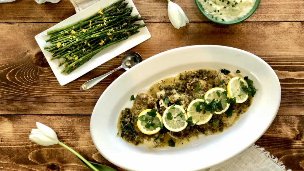 Image of INSTANT POT: CHICKEN PICCATA