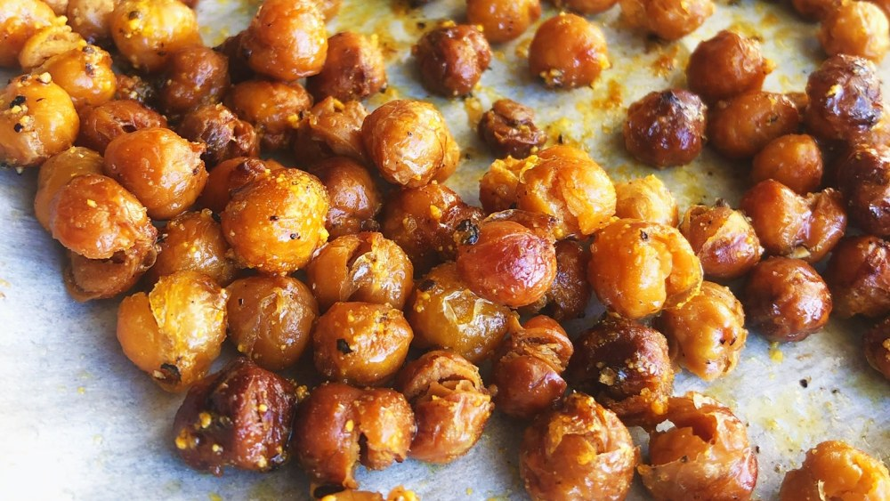 Image of BECAUSE SOMETIMES ALL YOU HAVE IS A CAN OF GARBANZO BEANS... (Part 2 - Crispy Chick Peas)