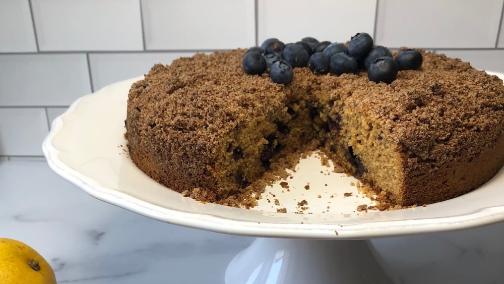Image of BLUEBERRY CRUMBLE COFFEE CAKE