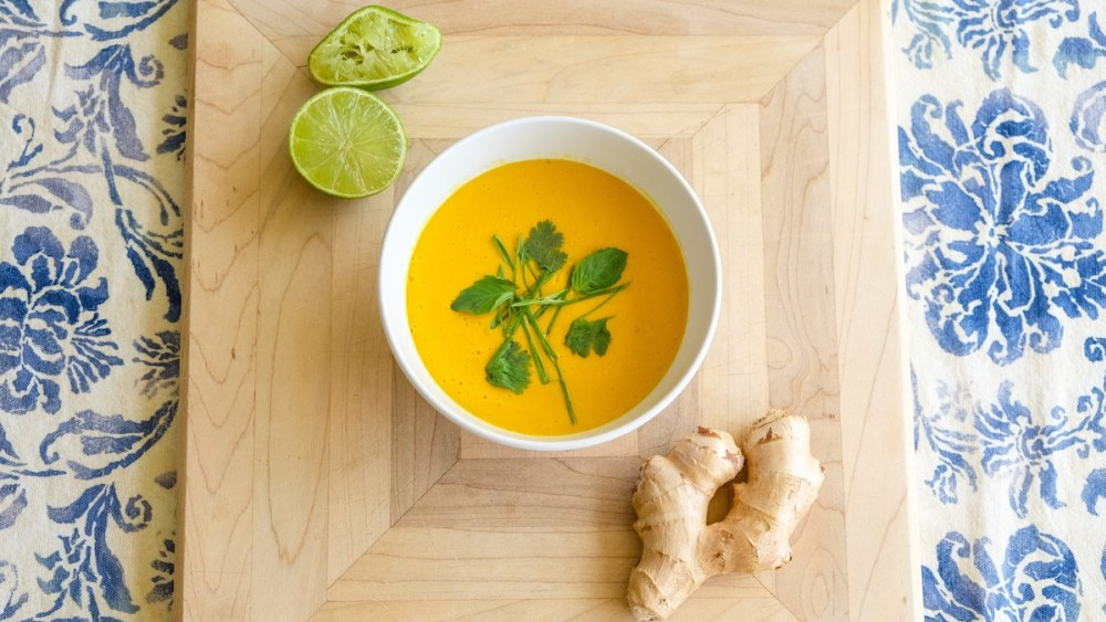 Image of Spiced Coconut Pumpkin Soup
