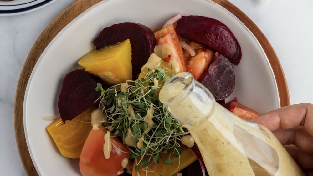 Image of Beet Salad with Date Dressing