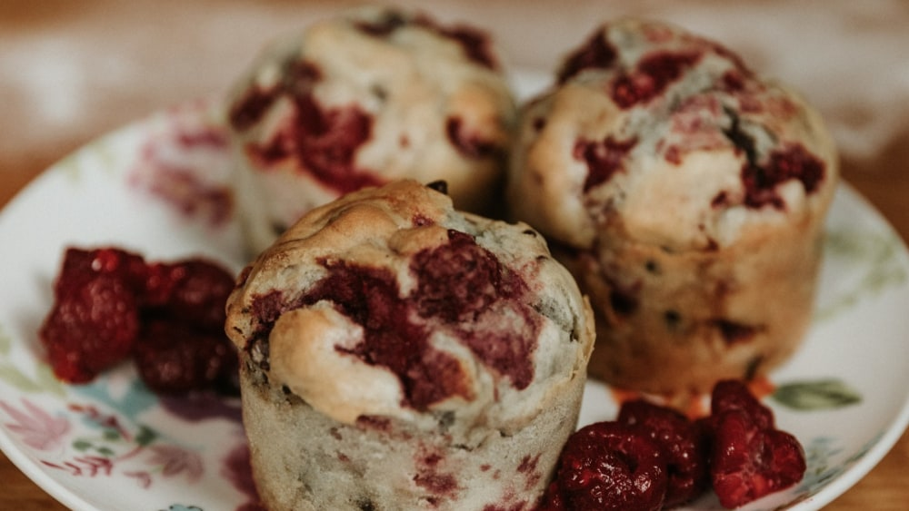 Image of Light Berries Muffins