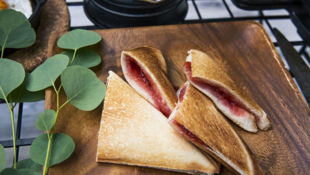 Image of Mountain Pie: Cherry Pie Recipe
