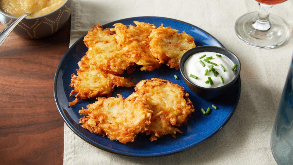 Image of The Best Vegan Potato Latkes