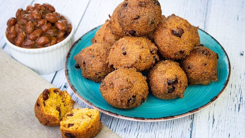Image of Jalapeño Bacon Bean Hushpuppies or Fritters