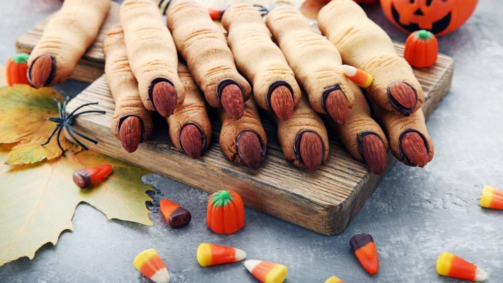 Image of Halloween Finger Cookies