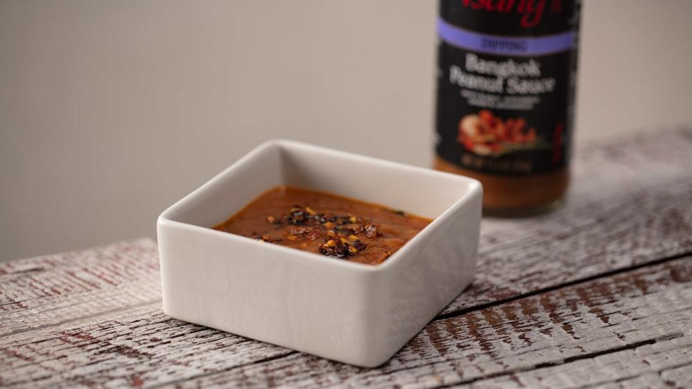 Image of Satay + oo'mämē Peanut Sauce