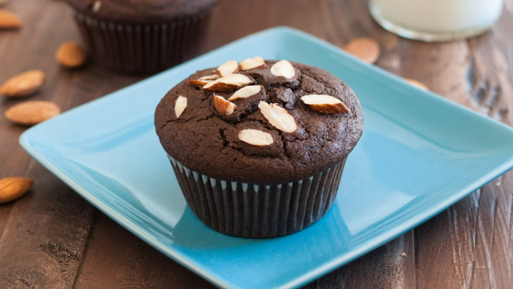 Image of Double Chocolate Almond Muffins