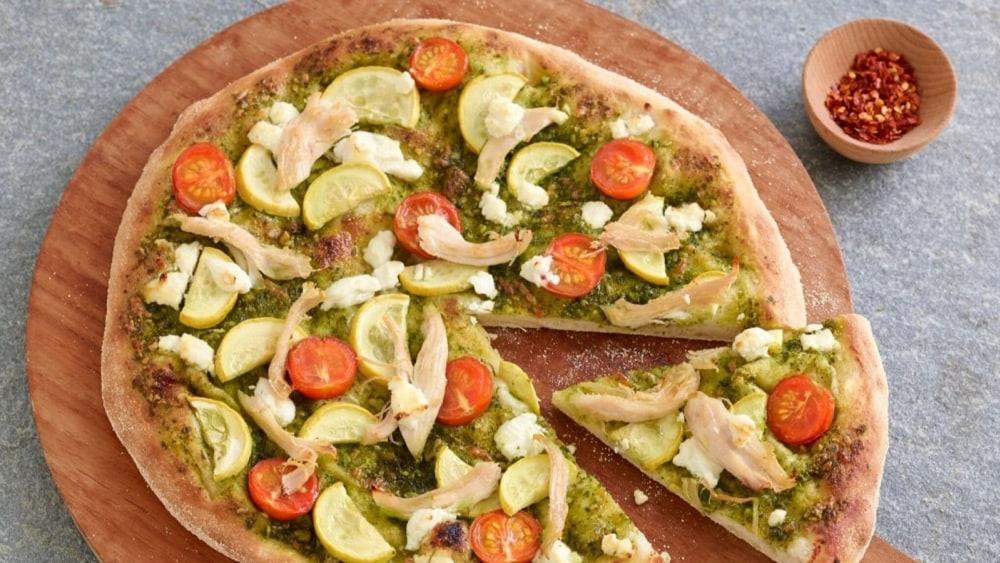 Image of Almond Pesto Pizza