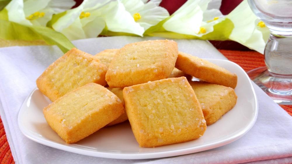 Image of Almond Shortbread Cookies