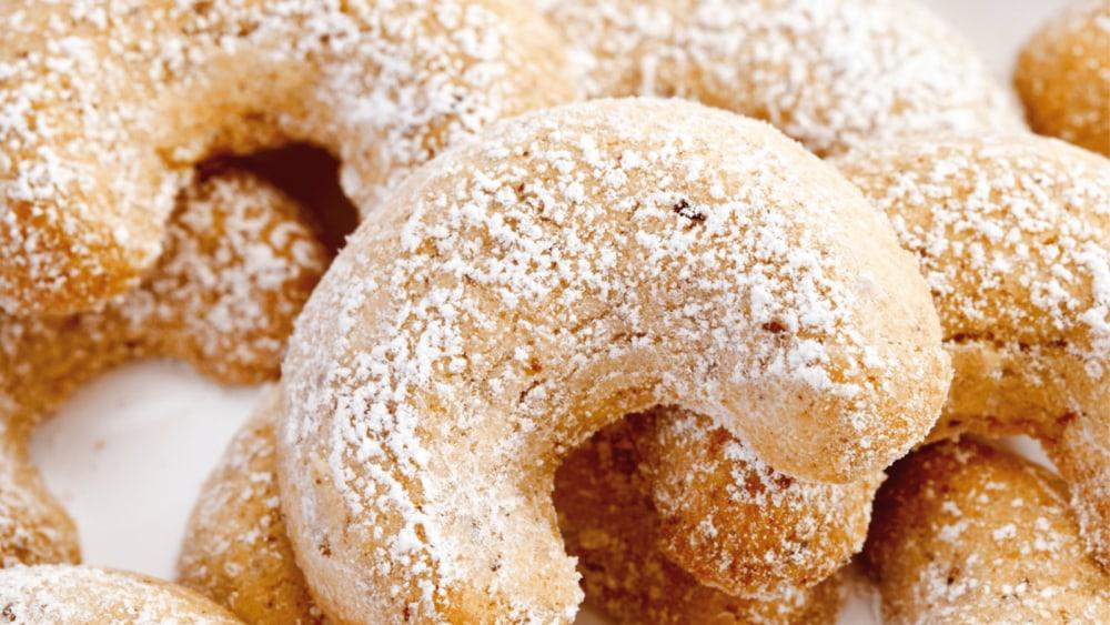 Image of Almond Crescent Cookies