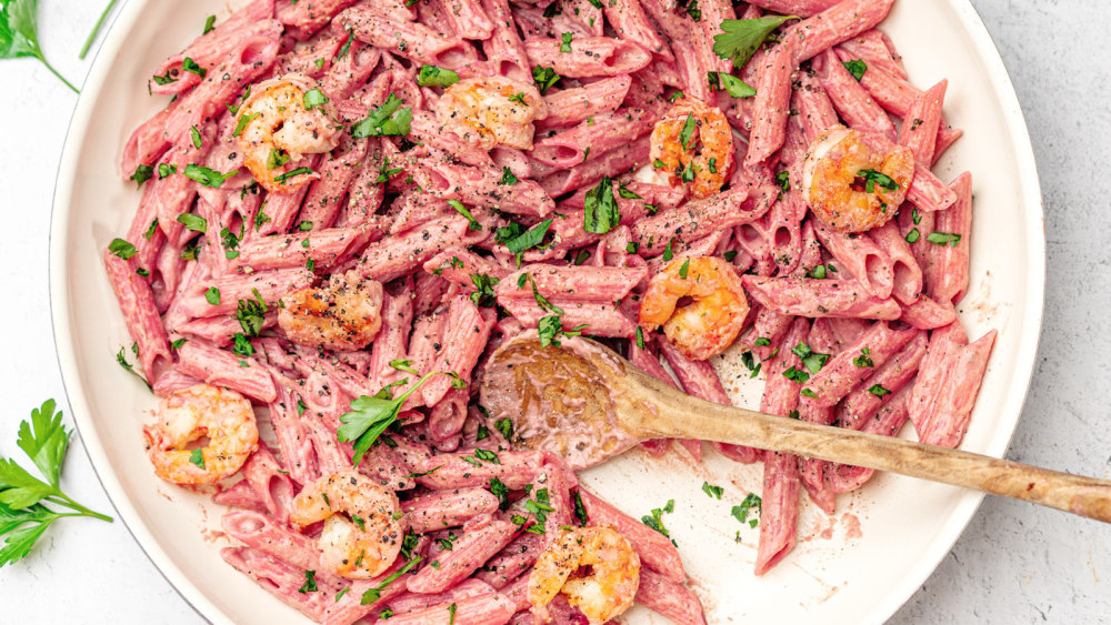 Image of Penne with Pink Sauce & Shrimp