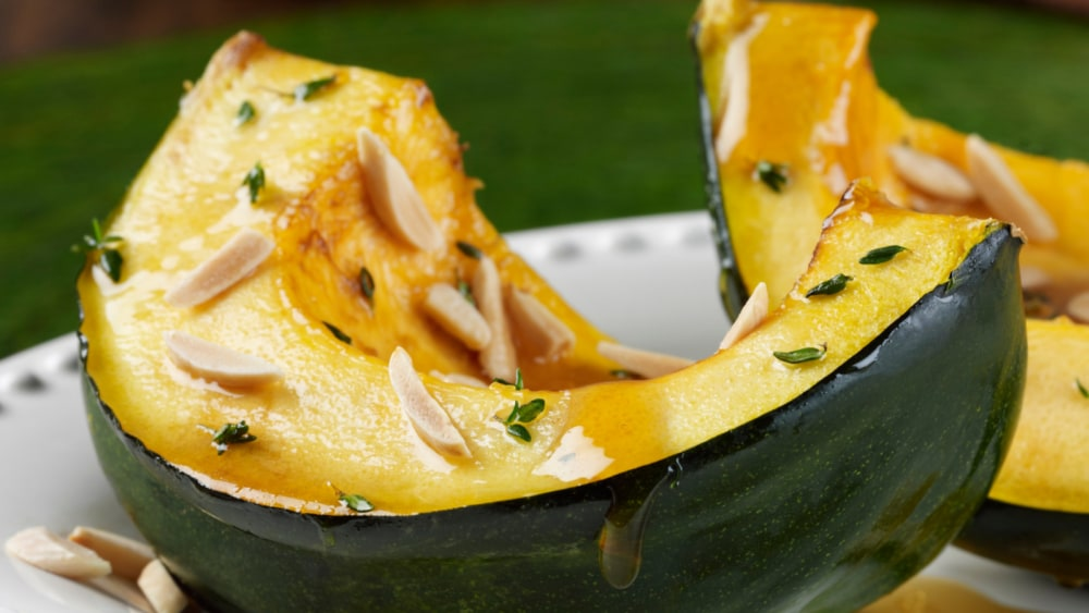 Image of Acorn Squash With Honey And Almonds