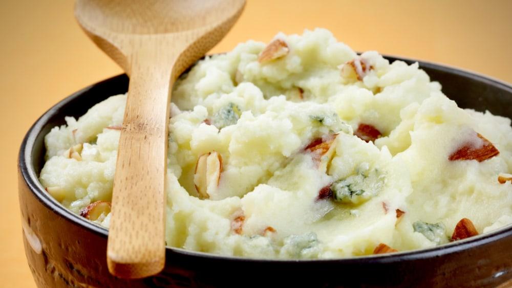 Image of Almond-Gorgonzola Mashed Potatoes