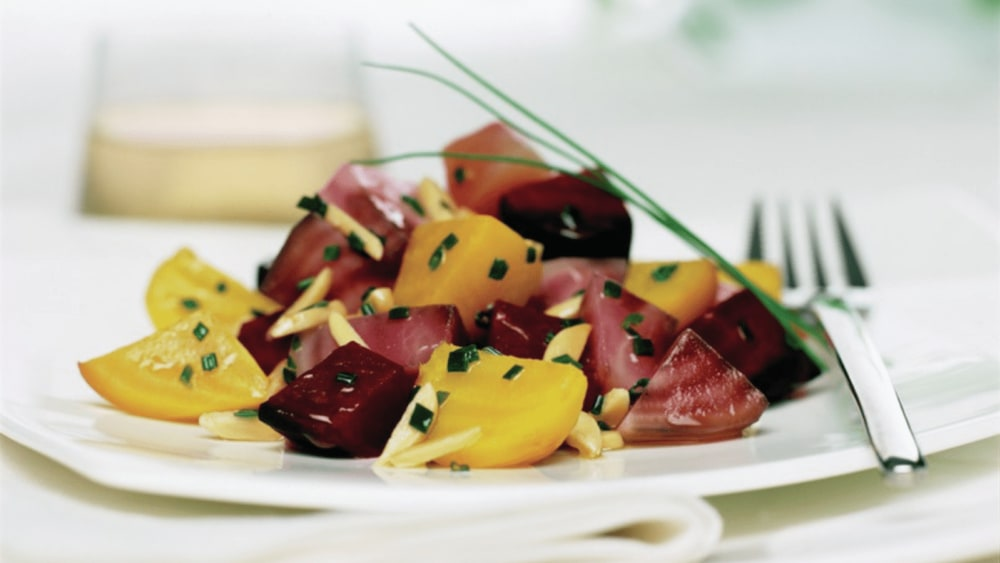 Image of Beet Salad With Almonds And Chives