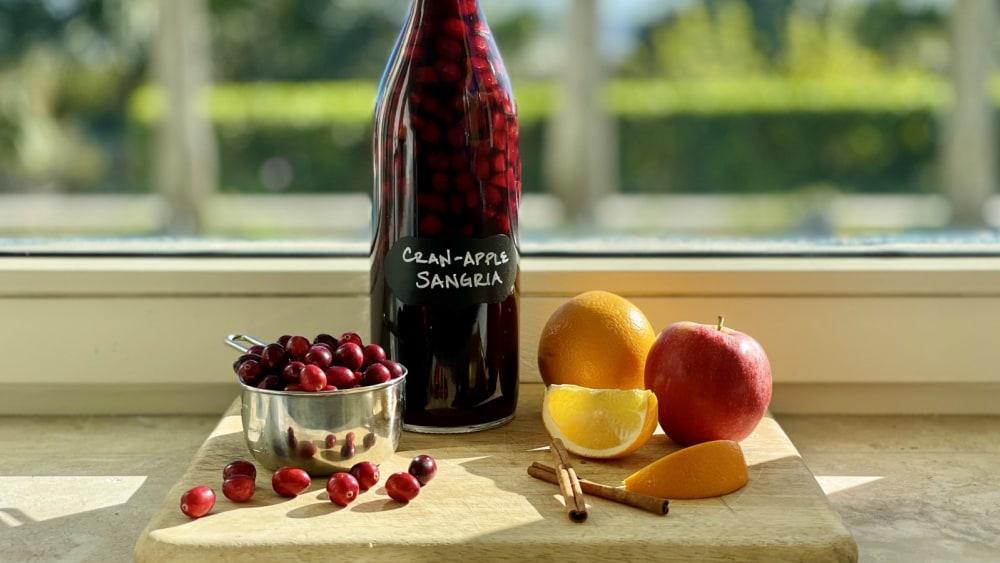 Image ofCran-Apple Sangria