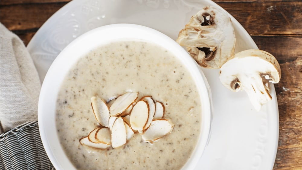 Image of Easy Mallorcan Style Almond Soup