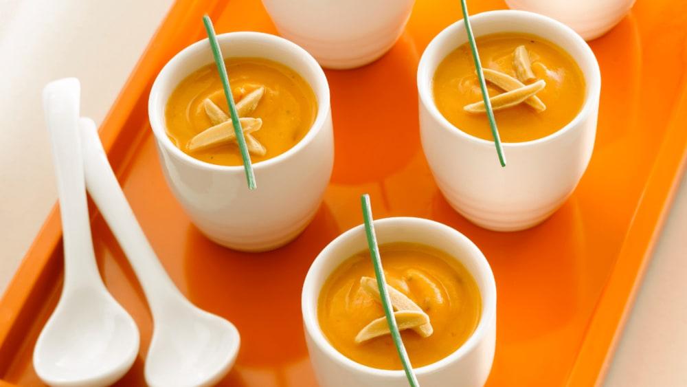 Image of Almond Sweet Potato Chipotle Soup