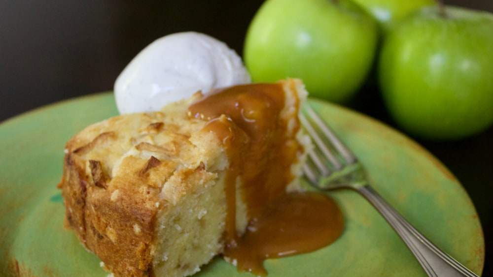 Image of Apple Almond Browned Butter Cake