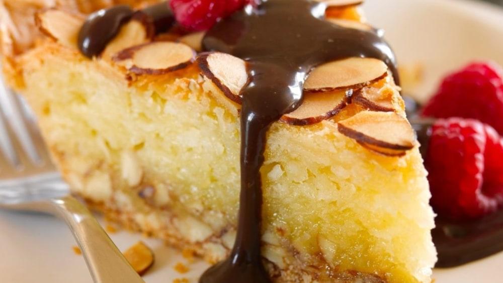 Image of Coconut Almond Macaroon Pie