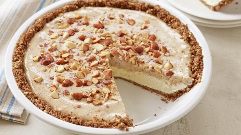 Image of Frozen Almond Butter Cookie Crumb Pie