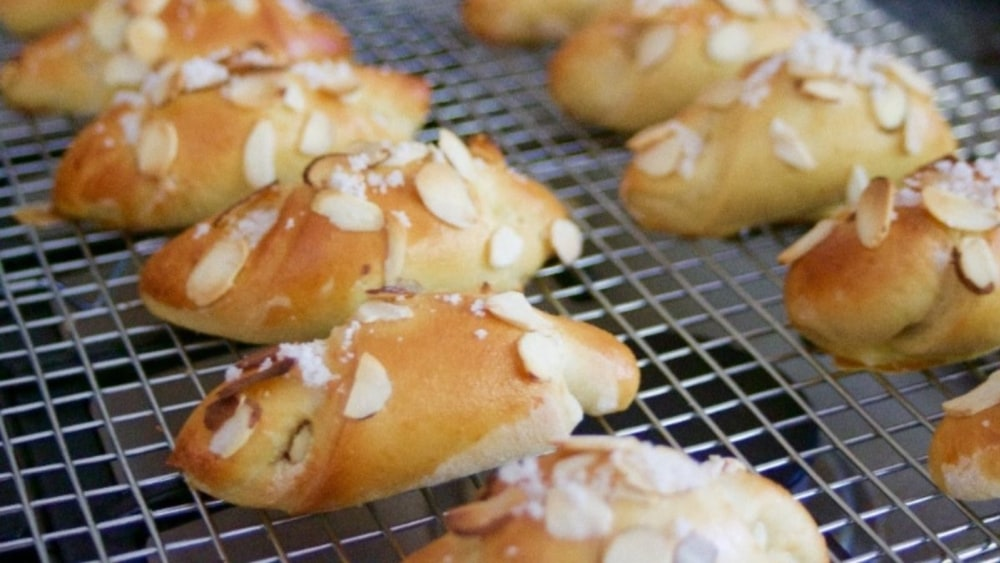 Image of Swedish Sweet Rolls with Almond Paste