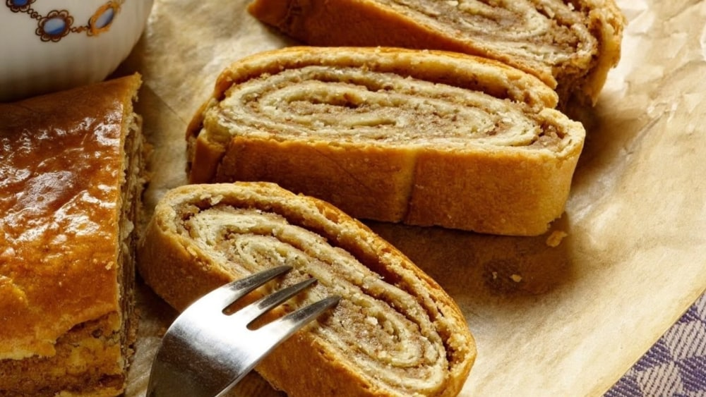 Image of Almond Filled Hungarian Roll