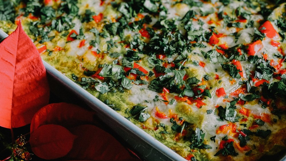 Image of Green Enchiladas with Bone Broth