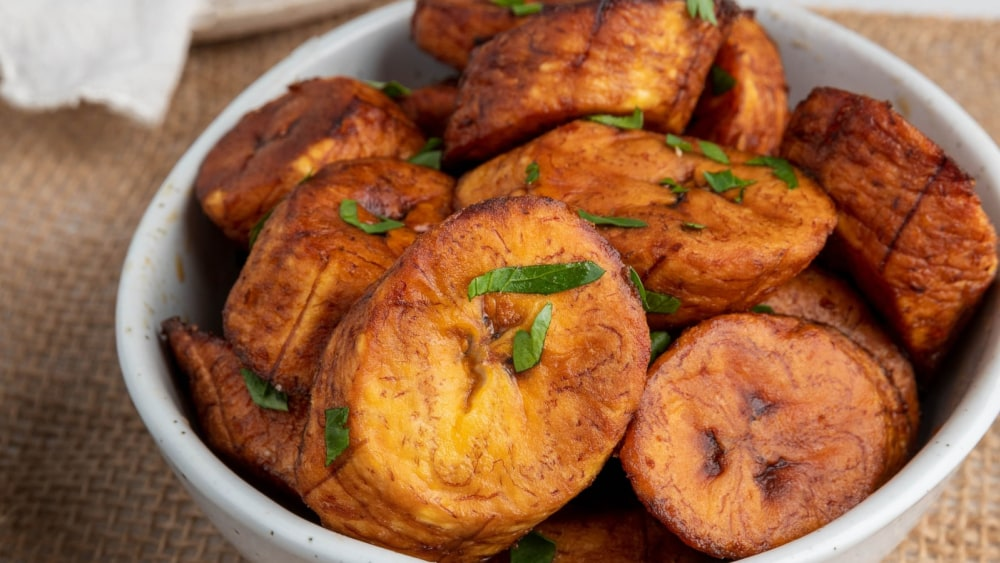 Image of Maduros (Fried Sweet Plantains)