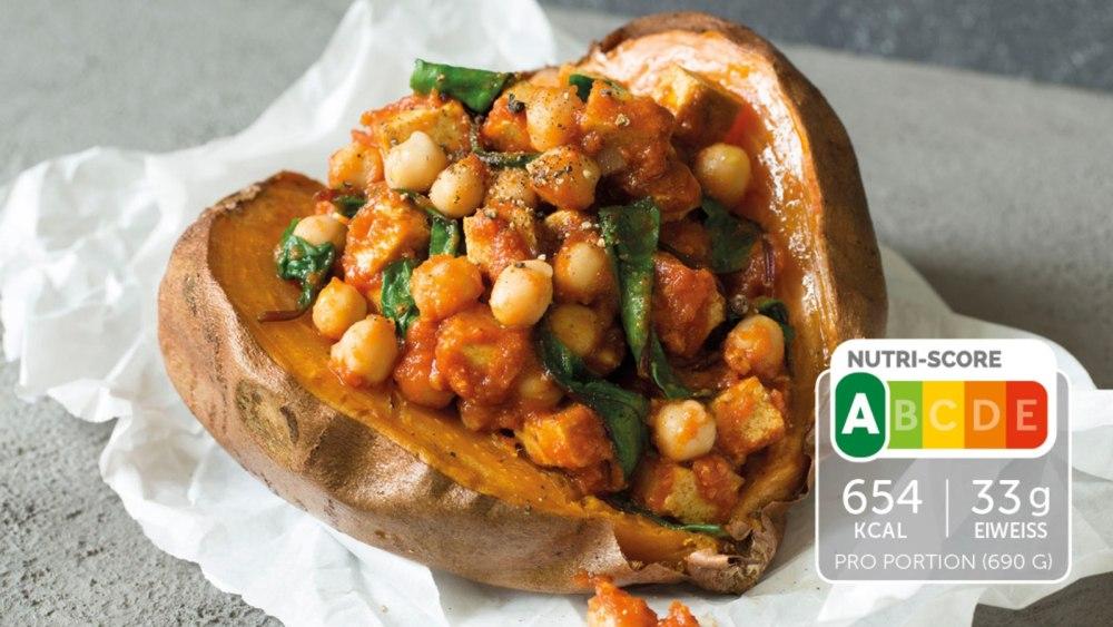 Image of Vegetarisches Curry mit Süßkartoffeln