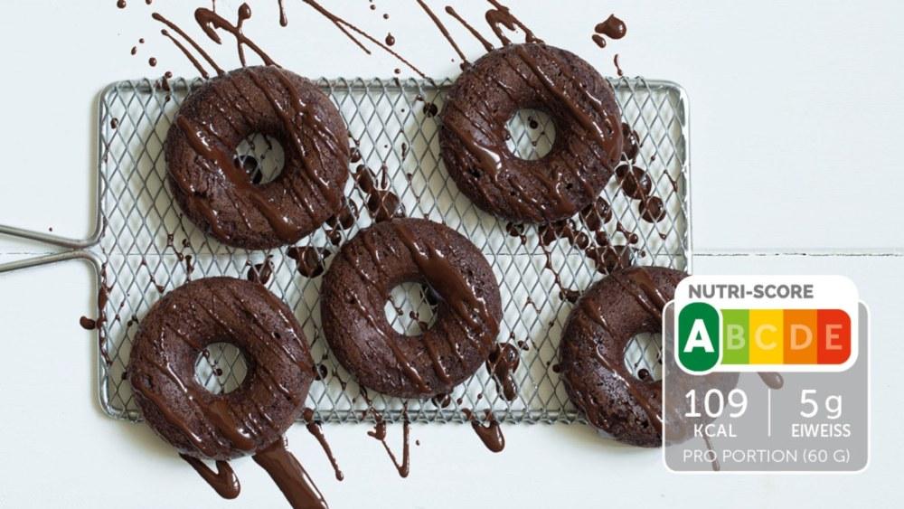 Image of Selbstgemachter Schoko-Donut
