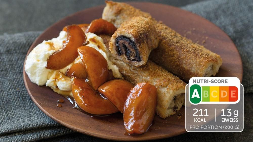 Image of French Toast mit Aprikosenkompott