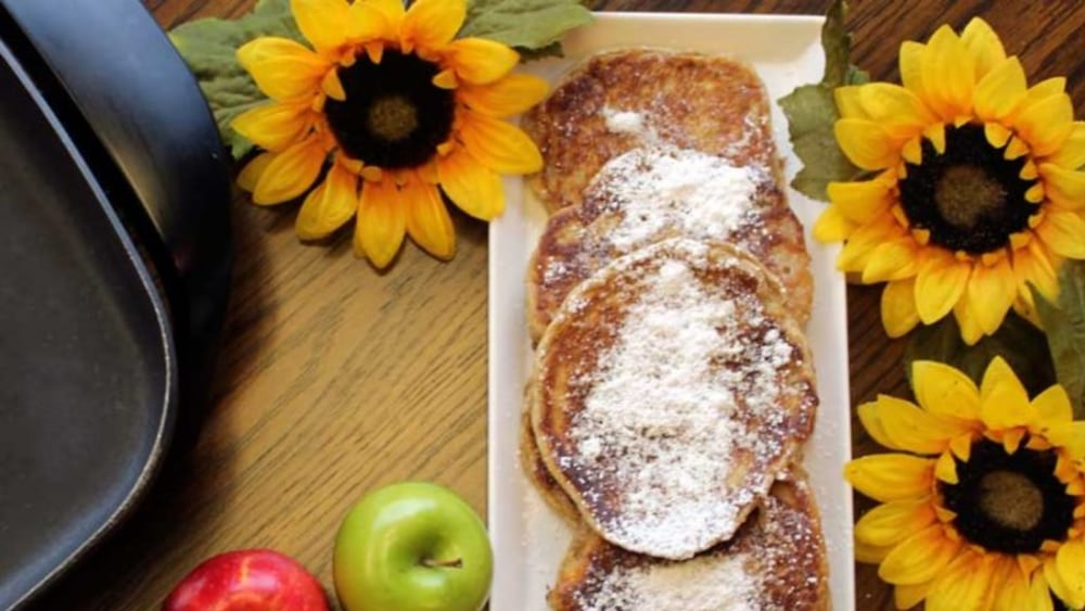 Image of Gluten-Free Apple Pancakes