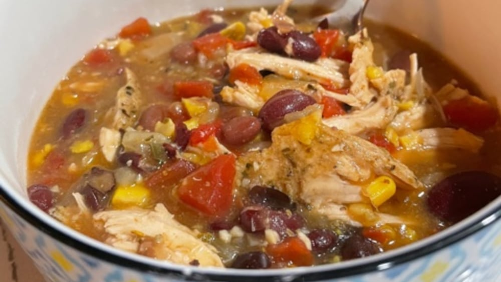 Image of Chicken Chili with Ghost Pepper Honey