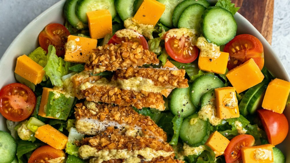 Image ofPretzel Crusted Chicken Salad