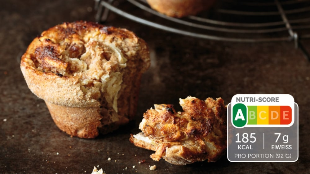Image of Apfel-Zimt-Muffins