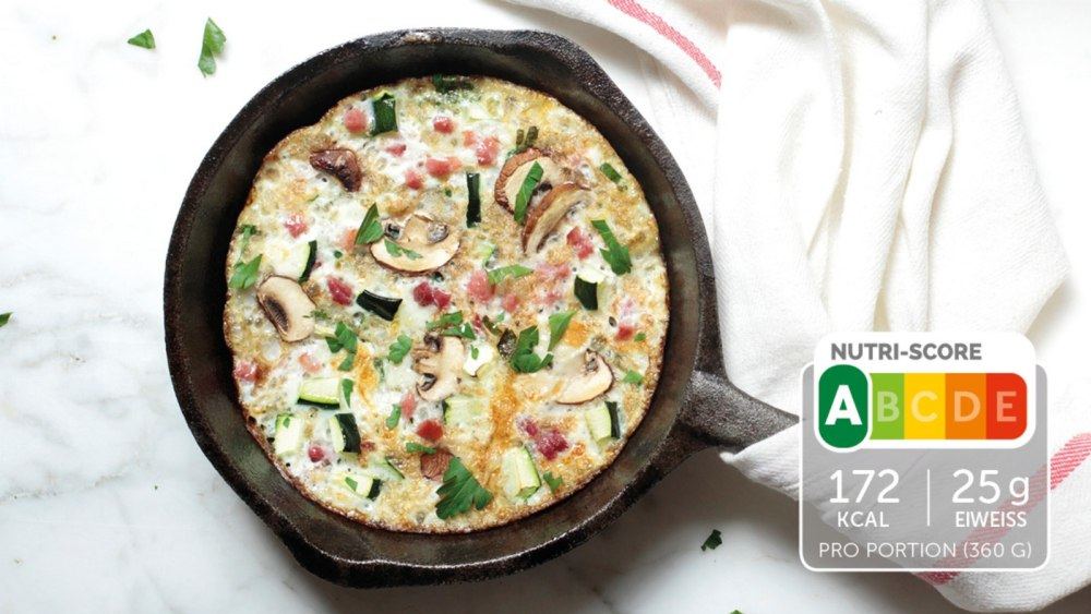 Image of Low Carb Champignons-Omelette
