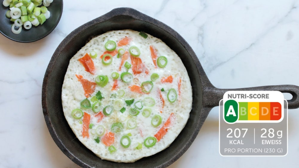 Image of Low Carb Omelette mit Lachs