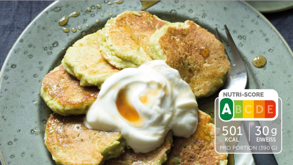 Image of Selbstgemachte Avocado Pancakes