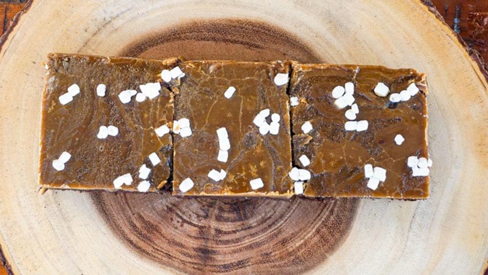 Image of Miso Caramel Brownies