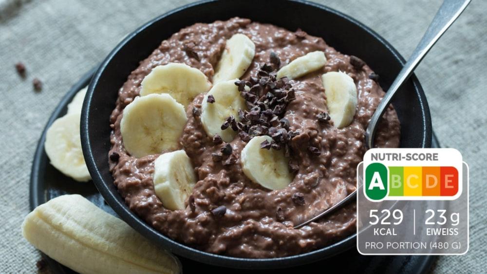 Image of Schoko-Porridge mit Banane