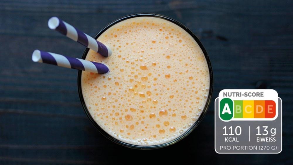 Image of Eiweiß-Shake mit Orange und Ingwer